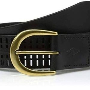 FOSSIL CLAIRE PERFORATED LEATHER BELT sz. 31-36